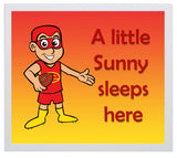Kid's Room Sign - Suns
