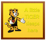 Kid's Room Sign - Tigers
