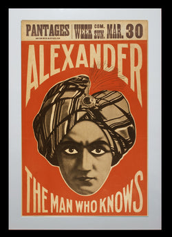 Magic Poster Print - Alexander The Man Who Knows