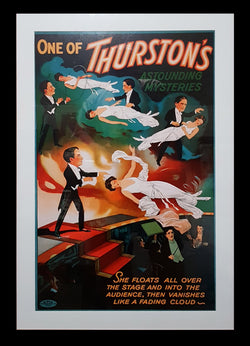 Magic Poster - Thurston Floating Lady