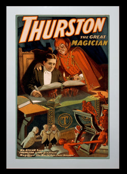 Magic Poster Print - Thurston, The Great Magician