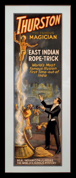 Magic Poster Print - Thurston's Rope Trick
