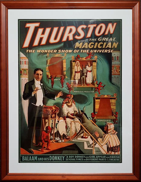 Magic Poster Print - Thurston's Wonder Show