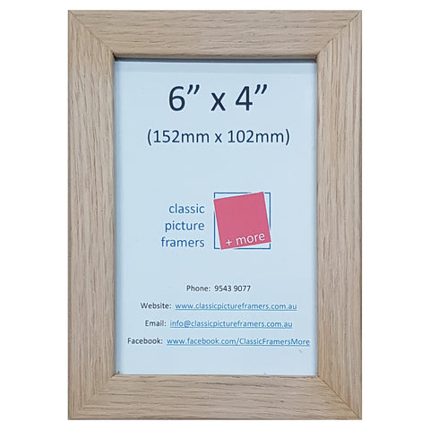 Timber Picture Frame - Oak 20mm