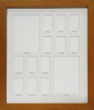 School Years Photo Frame - Large Rectangular - White Mat with Black Writing