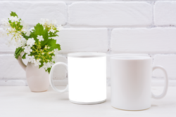Custom Photo Coffee Mug - Photo and Text