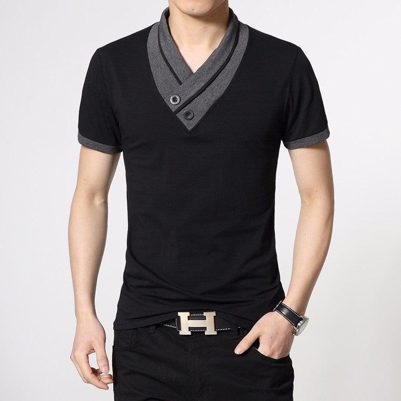 Slim Fit Style Short Sleeve