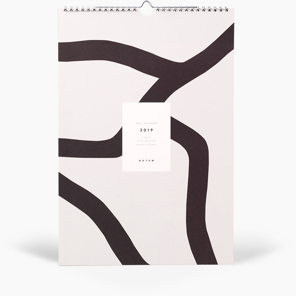 ALVA Wall Calendar 2019 - NOTEM studio