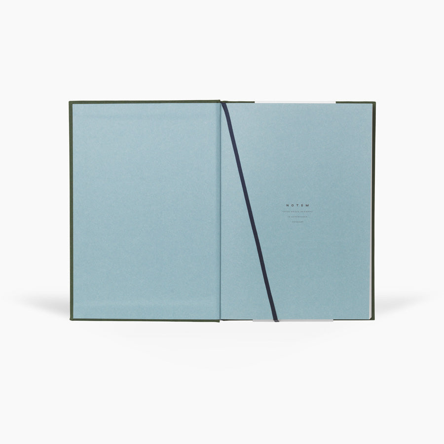 EVEN Notebook, Medium - Forest Green - NOTEM studio