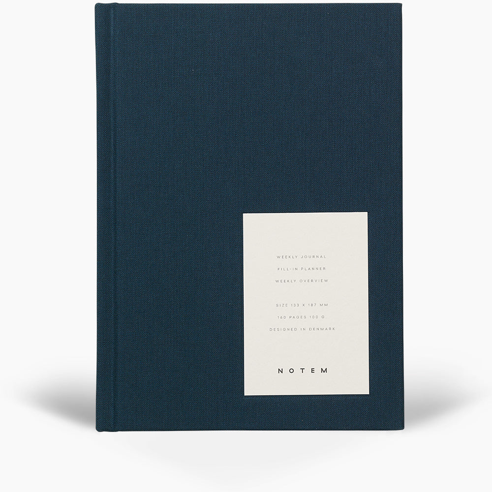 EVEN Weekly Journal, Medium - Dusty Blue - NOTEM studio