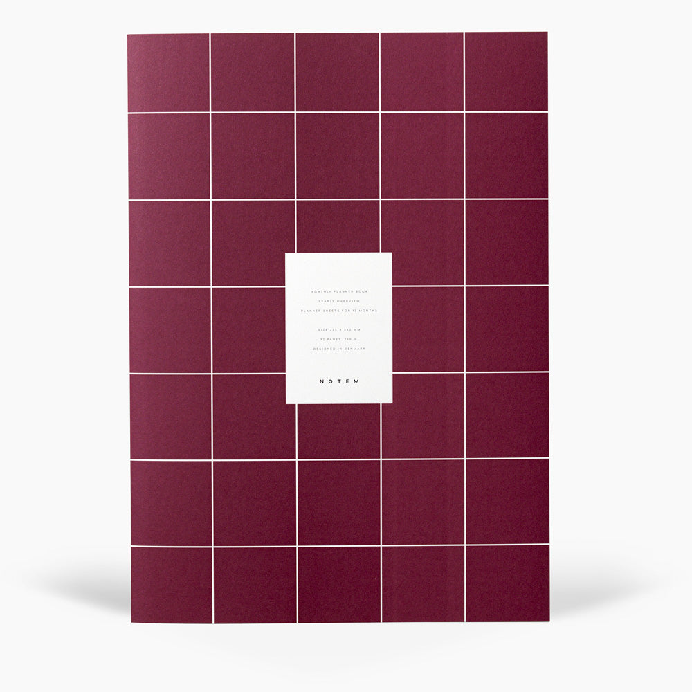 MILO Monthly Planner Book