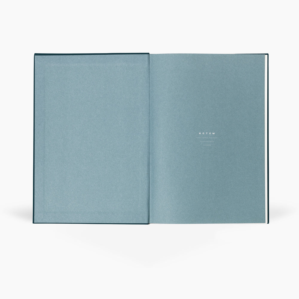 NOTEM Bea Notebook, Medium - Dark Blue - NOTEM studio