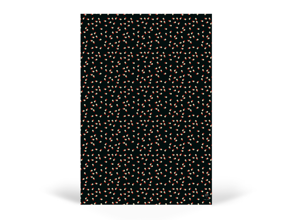 EDITH Wrapping Paper - Dots Orange