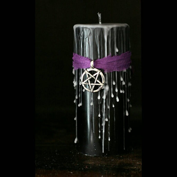 Grunge, Witch Goddess, The Craft hex 666, book of shadows candle, Occult, banishing   spell, black magic, coven of witches,