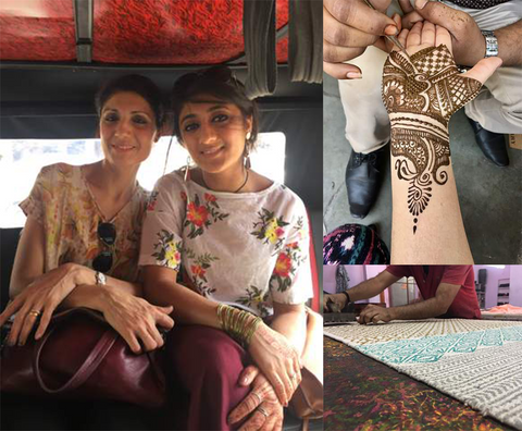 Namita and Reea, Woven Riches Co-founders