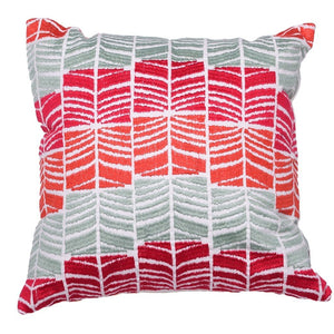 Pink Waves Cushion - Woven Riches NI