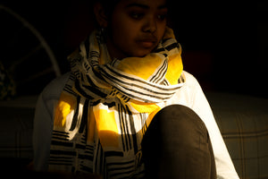 Amoli Block Printed Scarf - Woven Riches NI