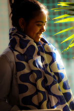 Deepa Hand Block Printed Scarf - Woven Riches NI