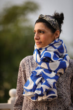 Deepa Hand Block Printed Scarf - Woven Riches