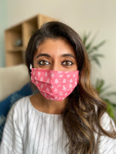 Pink Floral Mask - Woven Riches NI