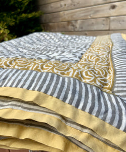Mason Quilted Reversible Throw - Woven Riches NI