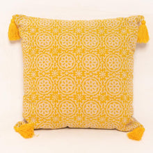 Uri Block Printed Cushion - Woven Riches
