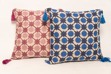 Ruhi handblock printed cushion - Woven Riches