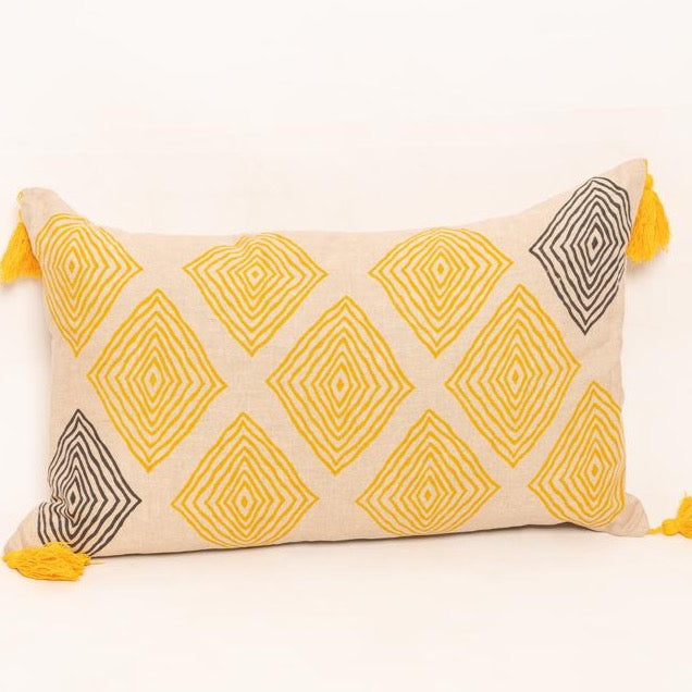 Anika hand block printed - Woven Riches