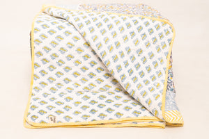 Netra quilted throw - Woven Riches