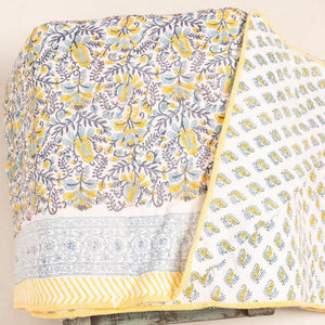 Netra quilted throw