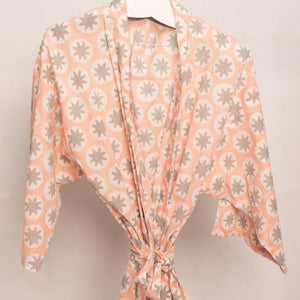 Anvi Block Printed Robe - Woven Riches NI