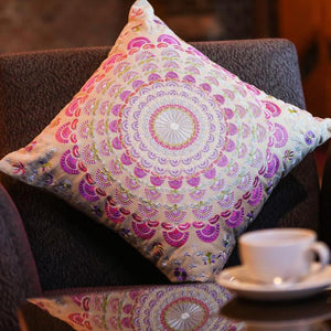 Traditional Indian Pinwheel Cushion