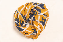 Naina Hand Block Printed Scarf - Woven Riches NI