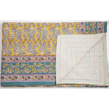 Charis Floral Kantha - Woven Riches
