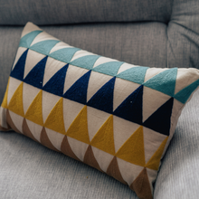Tikona Embroidered Pillow - Woven Riches
