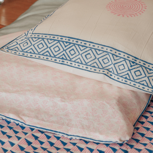 Sara Reversible Duvet Cover - Woven Riches