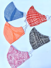 Pack of 5 Lightweight Pure Cotton Masks - Woven Riches