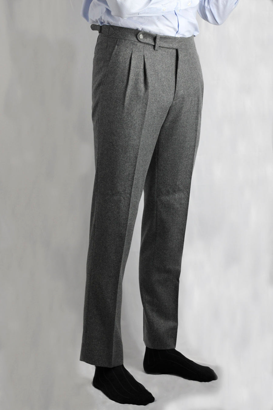 Gray Flannel Double Gripper Dress Pants