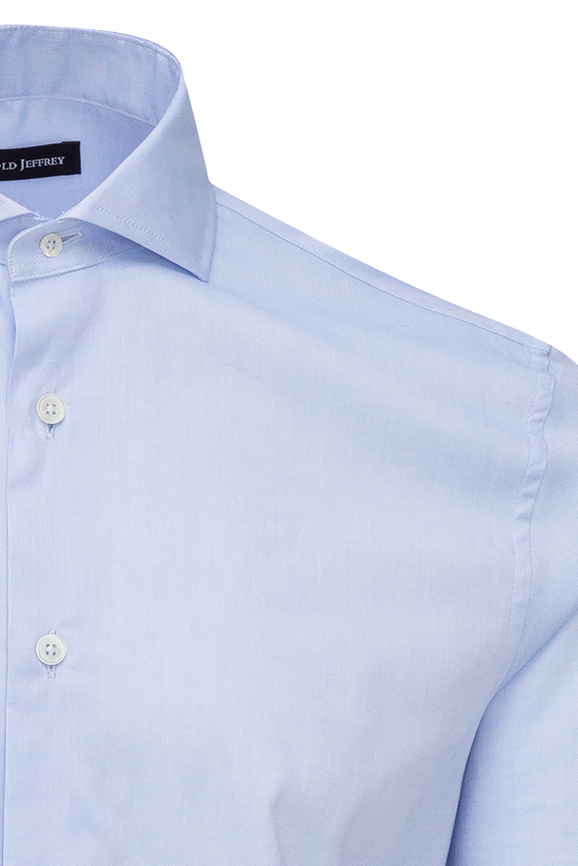 Camisa Dress Code Plain Blue