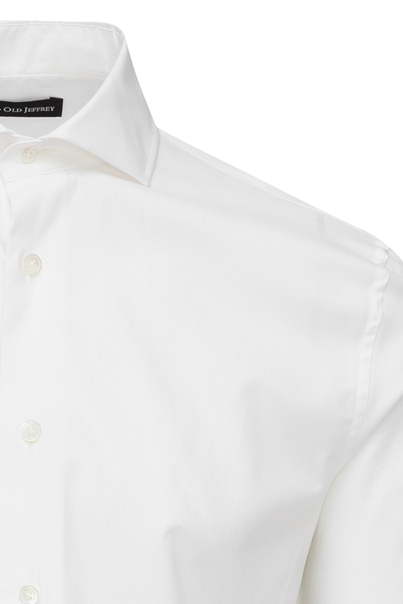 Plain White Dress Shirt WITHOUT Cufflinks