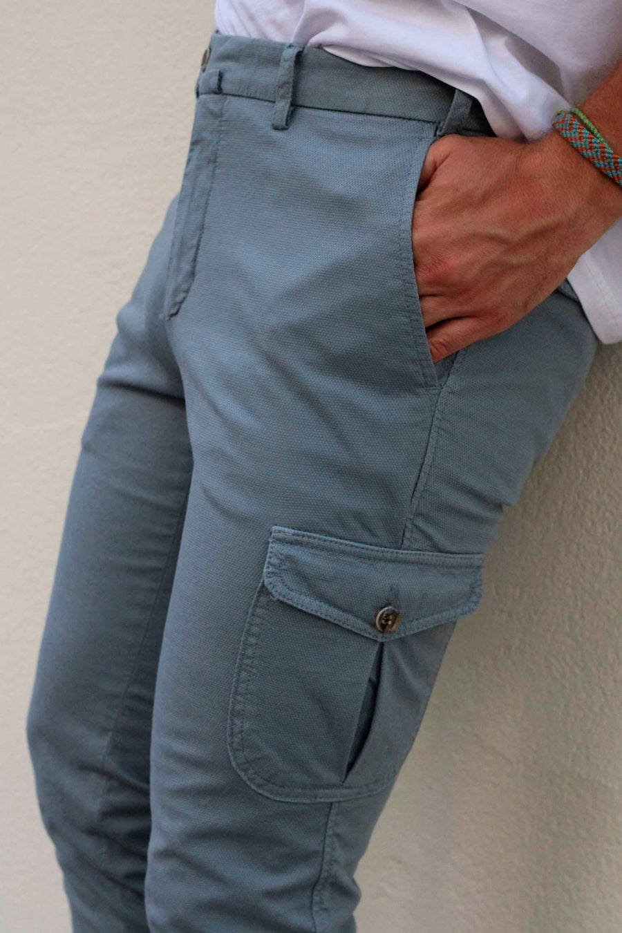 Cargo Canvas Steel Trousers