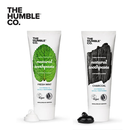 Natural Toothpaste | Cinnamon with fluoride | The Humble Co. | Nourished |