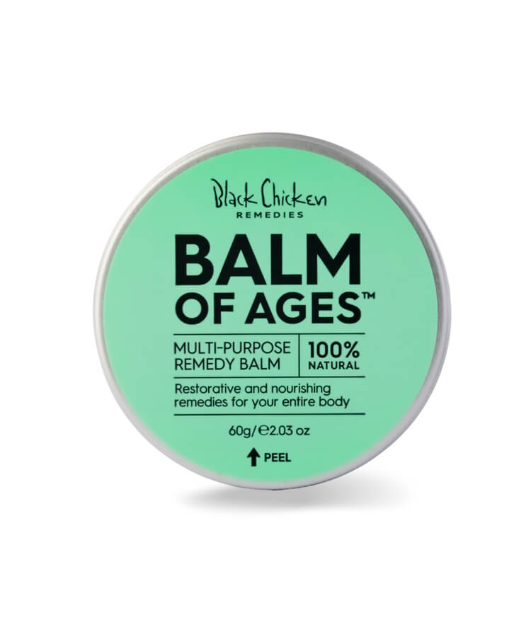 Balm of all ages Body Balm, Organic Body Balm, Mulltu-purpose remedy balm,  natuurlijke body balm, restorative body balm, nourishing balm, body remedies, hand balm, face balm, 100 % natural, 100 % natuurlijke body balm, Black Chciken, Black Chicken Remedies, Nourish, Nourished