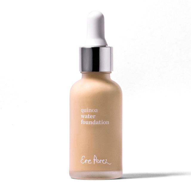 Quinoa Water Foundation, Ere Perez, Nourished Nederland, Natuurlijke foundation, natuurlijke make-up, natuurlijke cosmetica, vegan foundation, vegan make-up, 100% biologische make-up, natuurlijke huidverzorging, zonder parabenen, groene drogist, clean beauty, make-up workshop