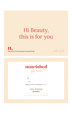 Nourished, nourished.nl, The home of clean beauty and natural living, webshop in natuurlijk huidverzorging.