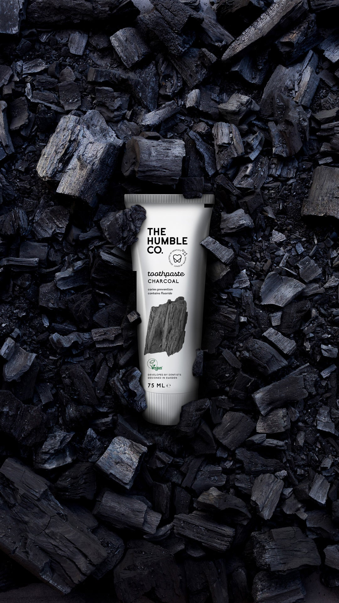 Natural Toothpaste Charcoal | Natural Toothpaste Cinnamon | Natural Toothpaste Fresh Mint | Natural Toothpaste | Cinnamon with fluoride | The Humble Co. | Nourished Eco Oral Care | Natural Toothpaste | The Humble Co. | Nourished
