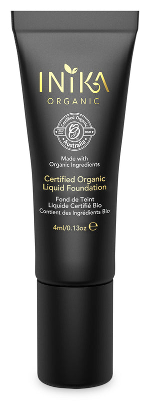 Certified Organic Liquid Foundation with Hyaluronic Acid, Inika organic, Nourished, Natural foundation, natuurlijke foundation, vegan foundation, natural makeup, natuurlijke make-up, vegan makeup, vegan make-up, biologische make-up.