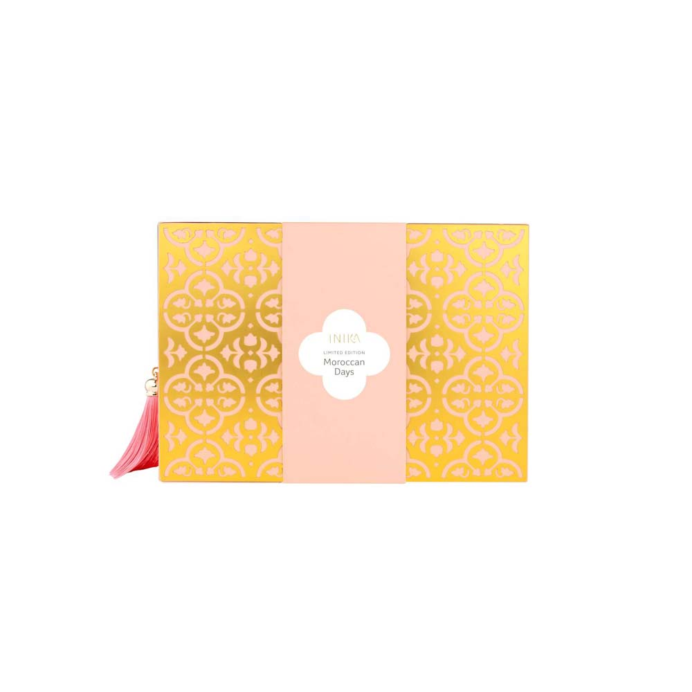 Marrakesh Days - Marrakesh Days Gift set - INIKA Organic Gift Set - Phytofuse renew resveratol day creme - INIKA Organic - Nourished - Moroccan Holiday Collection