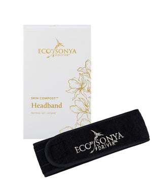 SKIN COMPOST™ HEADBAND, eco by Sonya skin compost headband, eco by sonya Nourished, Eco by Sonya Nederland, Eco Tan Nederland, Eco Tan Europe