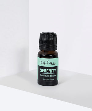 Serenity Essential Oil Blend| Black Chickend Serenity Essential Oil Blend| Essential Oil Blend | Serenity | Vegan | Natuurlijke Oliën | Black Chicken Sensitive | Cruelty-free | Natural & Clean | Black Chicken Skincare | essential oils | | Black Chicken | Natural Skincare | Nourished | Nourish
